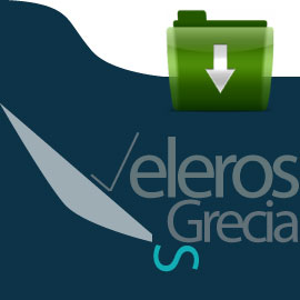 Logo de la página de descargas de veleros Grecia